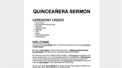 quincea 241 era sermon
