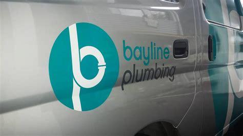 bayline hängematte bayline plumbing identity design 187 onfire design