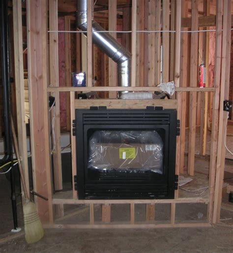 wood fireplace installation vented gas fireplace inserts installation version