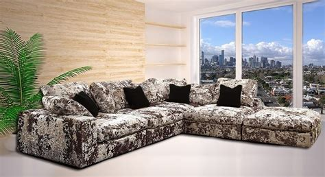 163 1 950 00 luxuriously upholstered in a soft crushed
