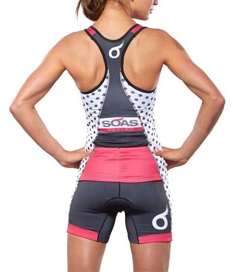 Dress Spandek Tri polka dot tri shorts soas racing sweat once a day