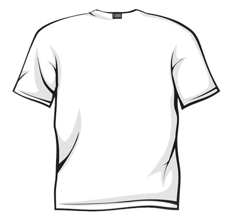 Drawing T Shirt by Line Drawing Tshirt Clipart Best