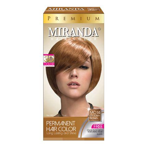 Miranda Hair Color Brown 60ml miranda hair color premium golden brown 60ml official