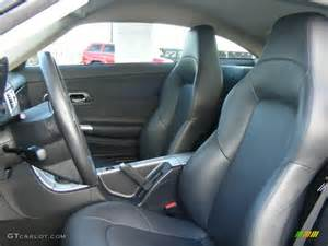 Chrysler Crossfire Seats 2008 Chrysler Crossfire Interior Image 113