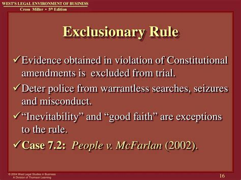 10 Exceptions To Search Warrant Rule Ppt Chapter 7 Criminal And Cyber Crimes Powerpoint Presentation Id 387717