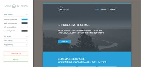 best responsive templates 65 best responsive html email templates weelii
