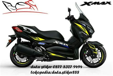 terjual cutting sticker stiker decal yamaha xmax
