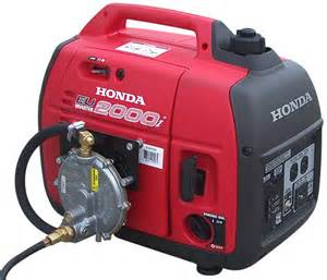 Honda Generator Eu2000i Inverter Generator With Cmd Fuel System