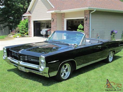 1964 Pontiac Bonneville Convertible 1964 pontiac bonneville black convertible with