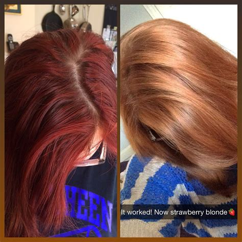 color opps before after color hair color