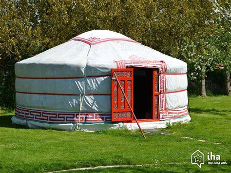 tende mongole location yourte tente mongole 224 veulettes sur mer iha 4949