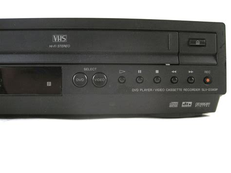 dvd cassette player sony slv d380p dvd cd dvd r player cassette vcr