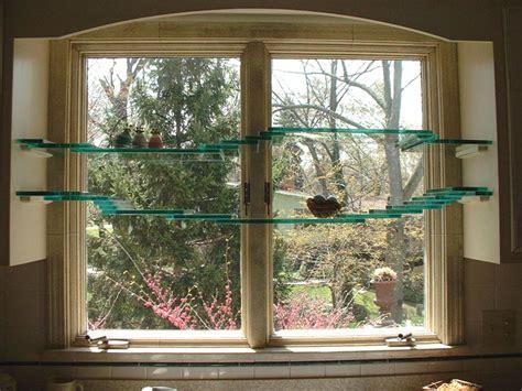 The Window Shelf by How To Install Floating Glass Shelves Glass Shelves