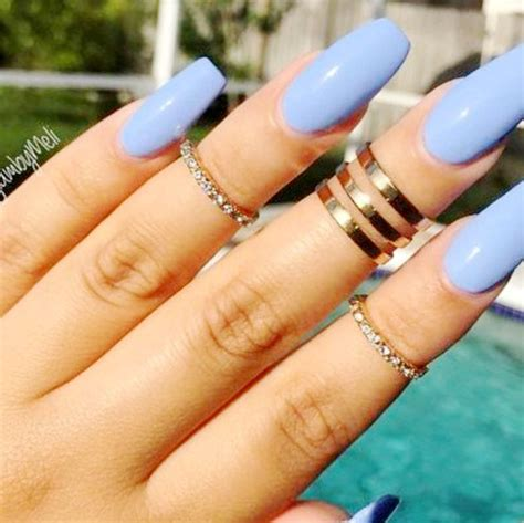 solid color acrylic nails acrylic nail solid color ideas
