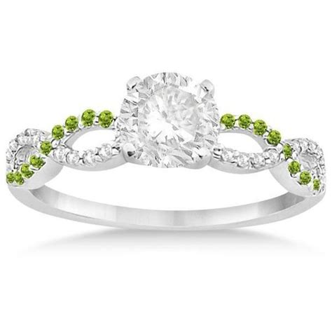 Peridot Engagement Rings by 1000 Ideas About Peridot Engagement Rings On