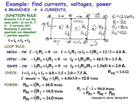 capacitor loop without resistance ppt kirchhoff s multi loop 28 images three identical resistors are connected in series 28