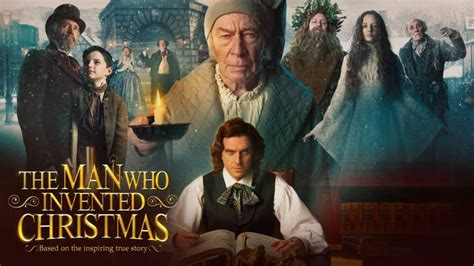 new movies out the man who invented christmas by dan stevens here s how charles dickens invented christmas