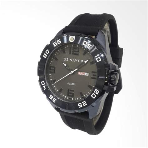 Harga Jam Tangan Merk Us Navy jual us navy 63593meripgrba jam tangan pria rubber black