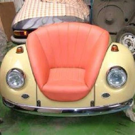 vw beetle couch 201 best auto parts furniture images on pinterest