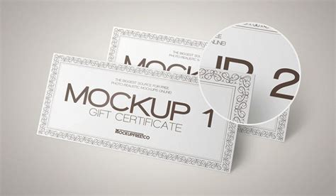 gift certificate template psd gift certificate psd mockup templates wooskins