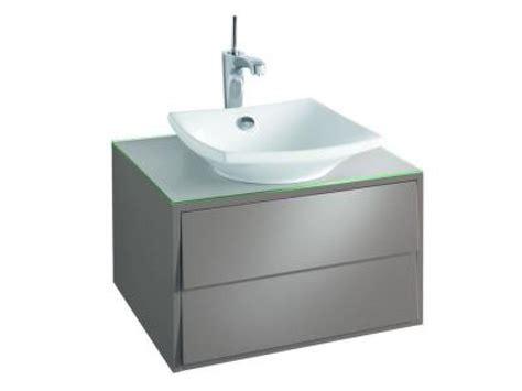 meuble sous vasque escale meuble sous vasque 224 poser l 60 x p 51 5 x h 36 cm laque brillante achat