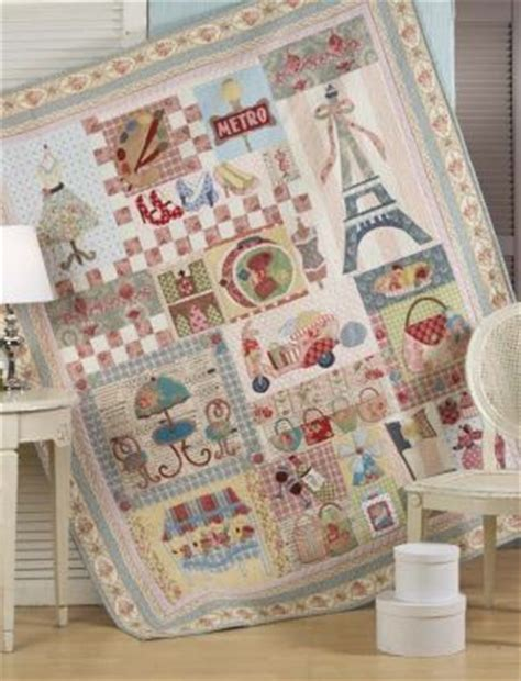 Patchwork Cottage - block of the month patterns and cottages on