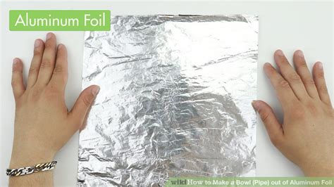 boats made out of aluminum foil how to make a bowl pipe out of aluminum foil 8 steps