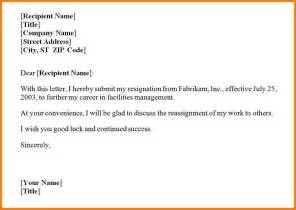 Letter Of Resignation Word by Letter Template Word Sadamatsu Hp