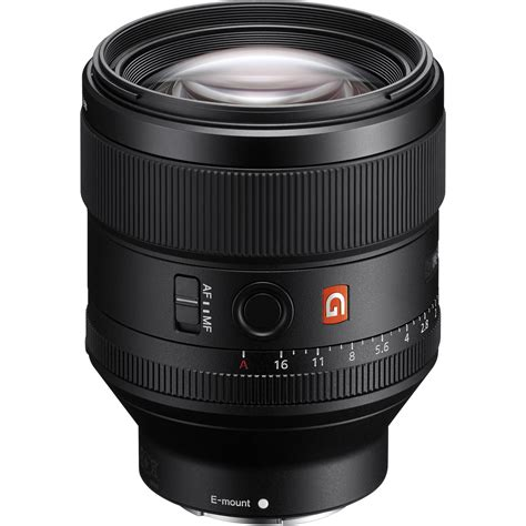sony fe 85mm f 1 4 gm lens sel85f14gm b h photo