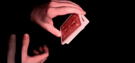 swing cut how to perform the swing cut card trick 171 card tricks