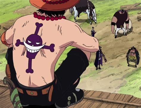 ace from one piece hurt like no other tattoos pinterest file ace finds blackbeard png
