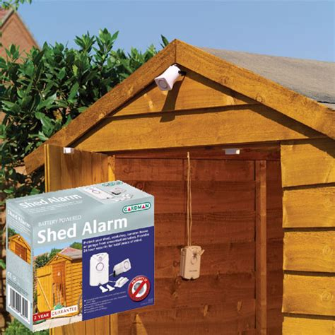 shed alarm home security and burglar alarm review