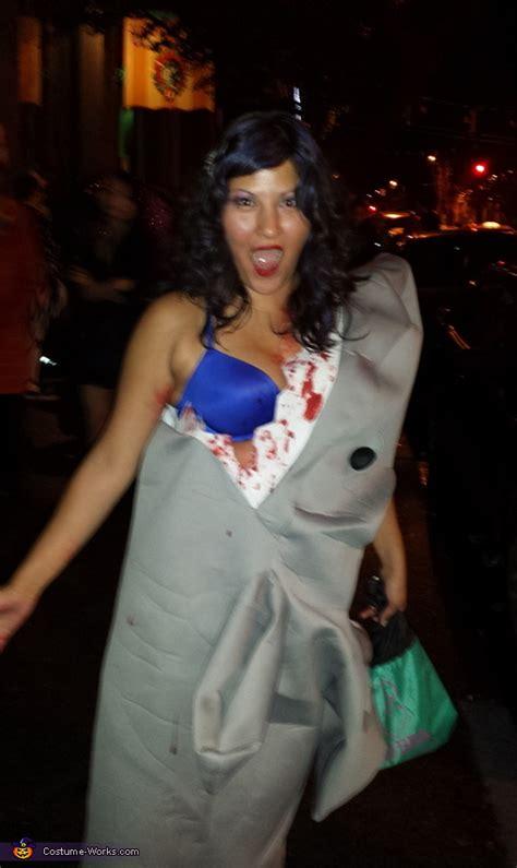 shark eating girl halloween costume