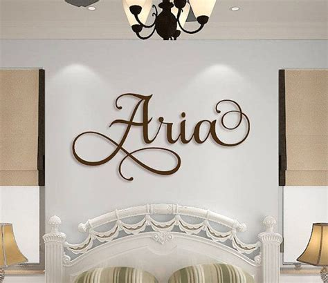 Name Wall Decor For Nursery Nursery Names On Wall Thenurseries