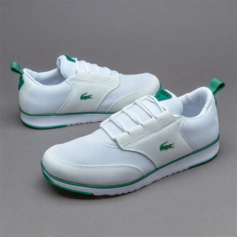 Sepatu White sepatu sneakers lacoste light white