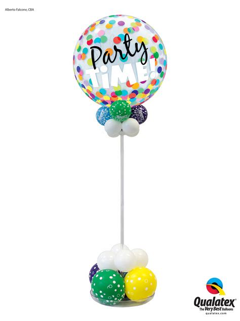Personalised Home Decor by Party Time Centerpiece Balloons Are Fun