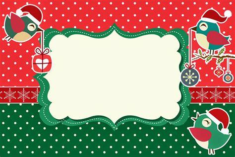 Imagenes De Navidad Para Invitaciones | pajaritos de navidad invitaciones para imprimir gratis