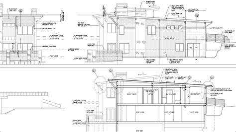section elevation drawing section drawing in autocad images