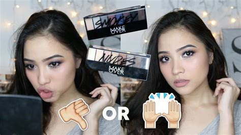 Makeover Eye Shadow Palette new makeover eyeshadow palette review tutorial