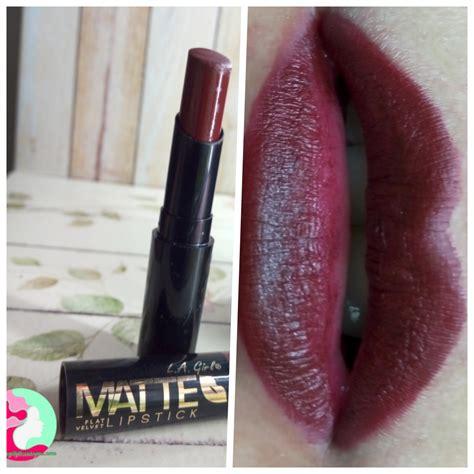 Harga Matte L A simply me l a matte flat velvet lipstick