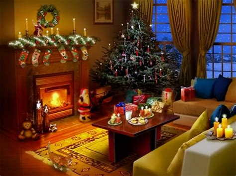 christmas wallpaper living room christmas eve 3d and cg abstract background wallpapers