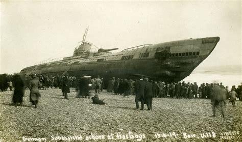 The Beaching of Submarine SM U-118 At Hastings U Boat