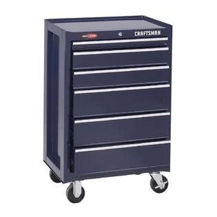 Craftsman 2 Drawer Tool Chest by Craftsman 26 1 2 Quot 6 Drawer Glide Roll Away Tool