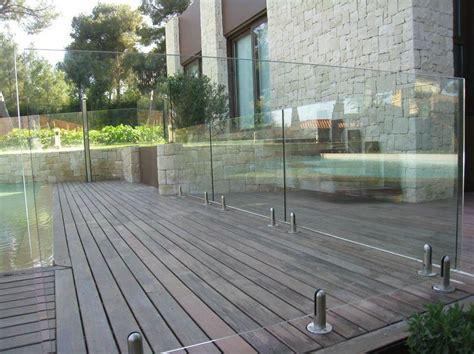 barandilla piscina barandillas de cristal para piscina