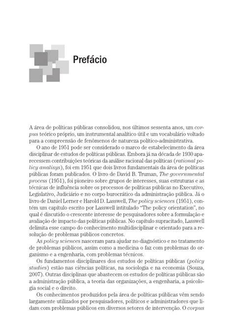 Políticas públicas – Conceitos, esquemas de análise, casos
