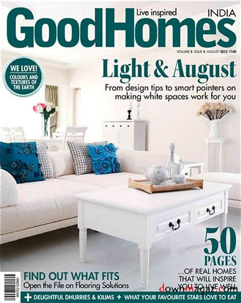Good Home Design Magazines | good homes india magazine august 2012 187 download pdf