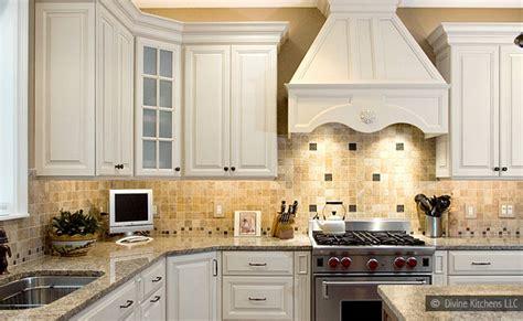 mosaic tile backsplash white cabinets tumbled marble mosaic backsplash tile backsplash