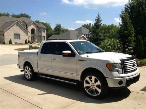 how to sell used cars 2012 ford f150 auto manual sell used 2012 ford f 150 lariat crew cab pickup 4 door limited saleen wheels 8000 miles in