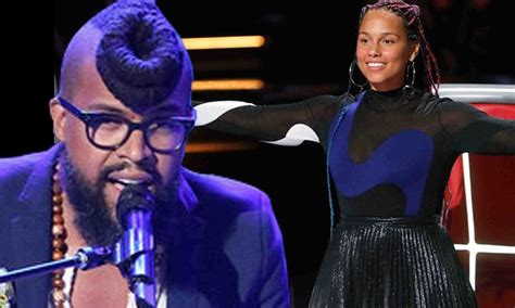 the vioce uk male contestants with long hair the voice alicia keys recruits terrence cunningham