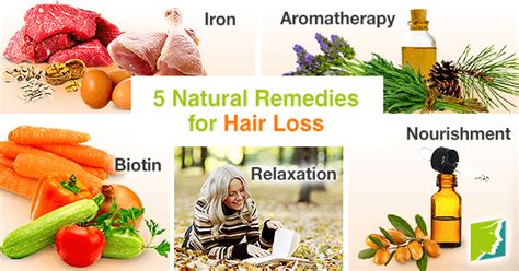 home remedies for hair loss for 50 5 natural remedies for hair loss